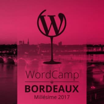 WordCamp Bordeaux 2017