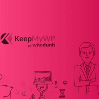 Offre de maintenance WordPress KeepMyWP