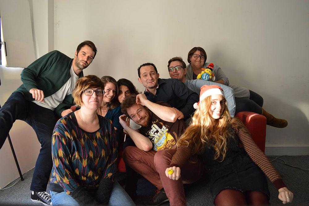 Equipe Whodunit Noël 2016