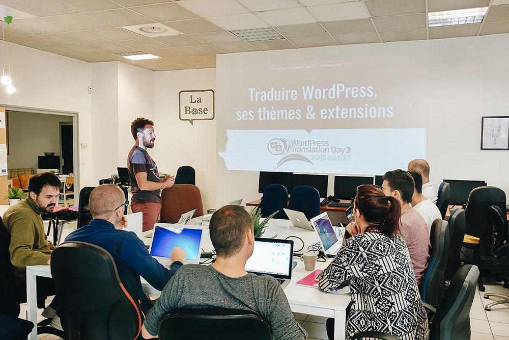 Traduction WordPress conférence