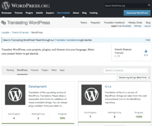 Traduire WordPress