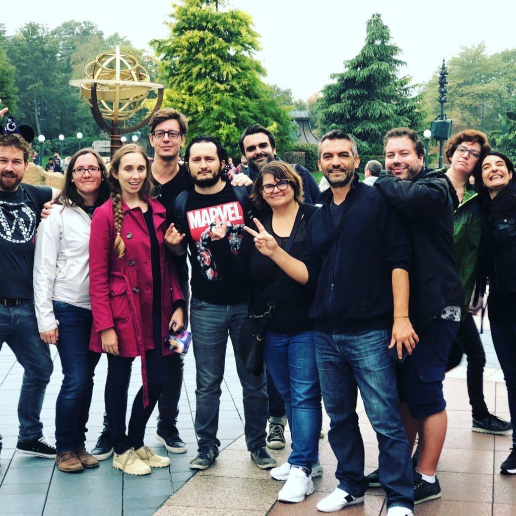 Team building à Disneyland